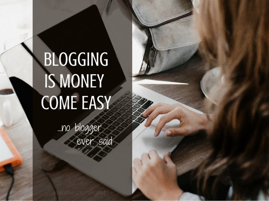 Blogging Is Money Come Easy - Behind The Scenes Of Blogging!